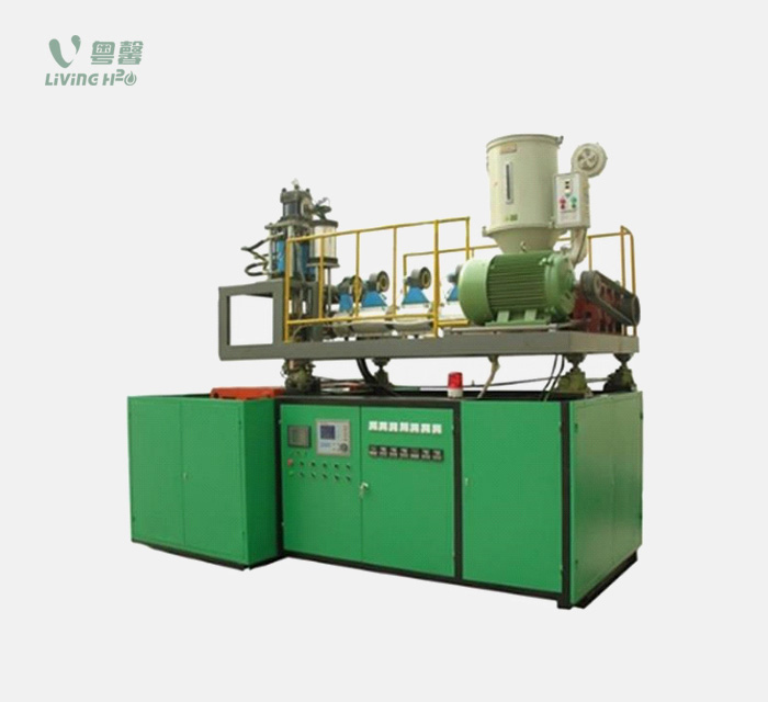 Full-auto PC extrusion blow moulding machine
