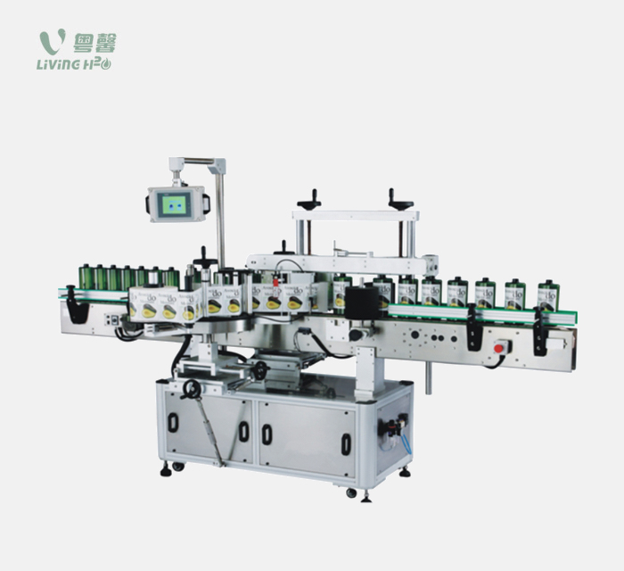Double-side Flat Shape Bottle Adhesive Labeling Machine