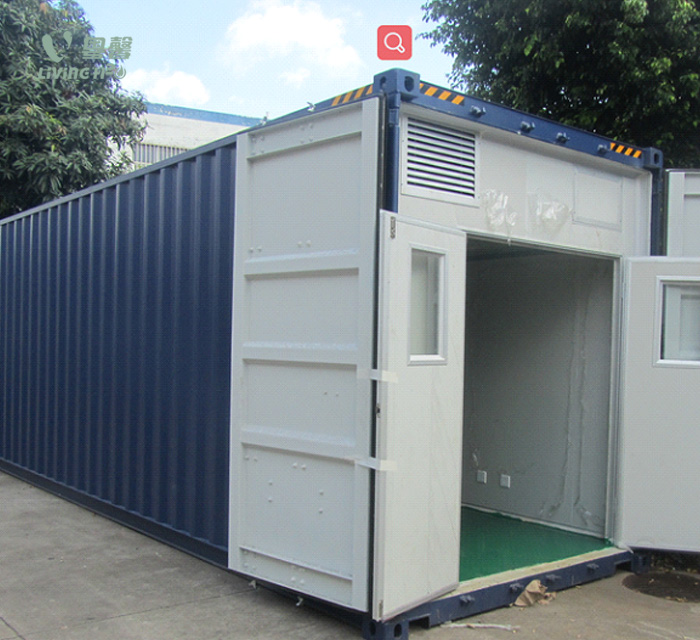 Mobile containerized Water plant