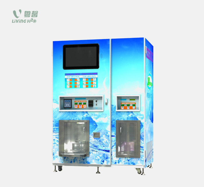 Ice & Water Vending Machine