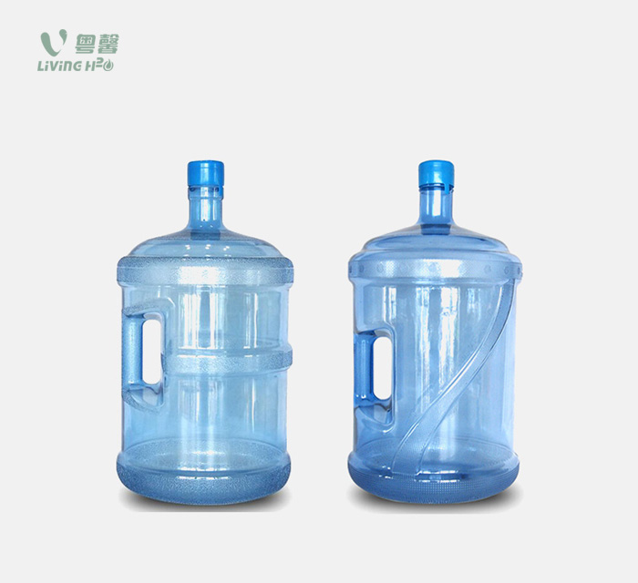 1/2/3/4/5 gallon PC water bottle (with handle)