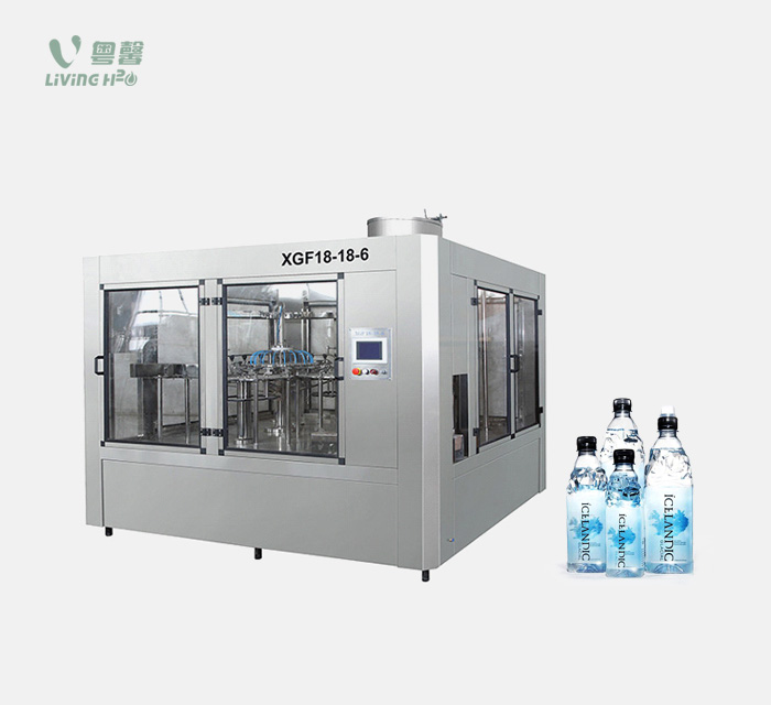 bottled water filling machine (3-in-1)