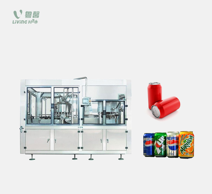 Canned carbonated drinks filling machine (BGF series)