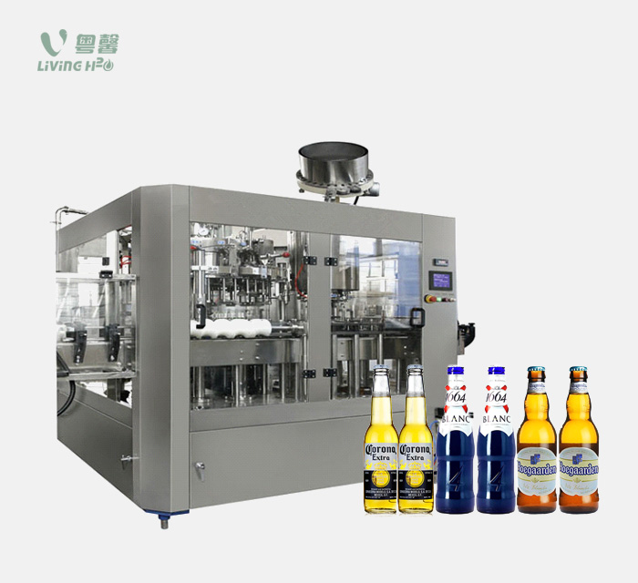 Glass bottle beer filling machine (BGF series)