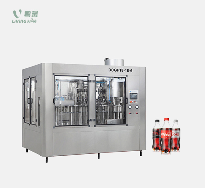 PET bottle carbonated drinks filling machine (DCGF series)