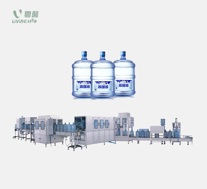 3/5 gallon bottled water filling machine